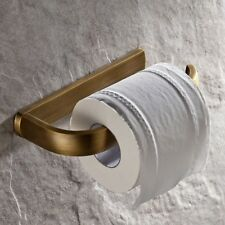 Antique Brass Bathroom Toilet Paper Holder Wall Mount Square Roll Paper Holder