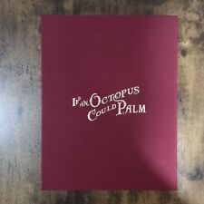 More details for if an octopus could palm ltd deluxe signed edition magic book by dan & dave