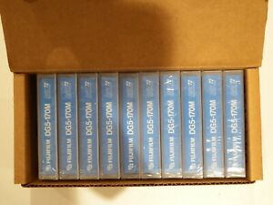Box of 10 x Fujifilm DAT72 / DAT 72 Data Tapes/Cartridges 36/72GB DG5-170M 4mm