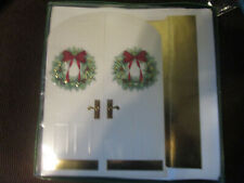 CHRISTMAS CARDS BY MASTERPIECE STUDIO, box of 16, new in box