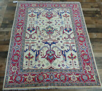5'x7' New Fine Caucasian Pakistani Super Kazak hand knotted wool Oriental rug