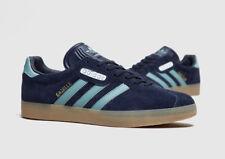 Entièrement neuf dans sa boîte Adidas Gazelle Super UK 7 Night Navy/Vapor Steel/Gum Sole cg3275