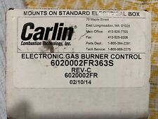 Carlin 6020002FR363S Ignition Control New Old Stock