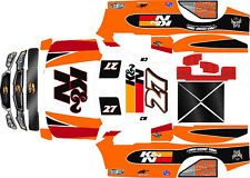 HPI 5sc   wrap decals stickers TROPHY TRUCK THEME