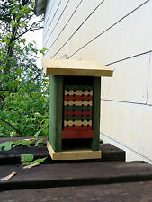 New listing Mason Bee House, Habitat, All cedar, Handmade