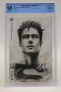 Superman Son Of Kal-El (2021) #1 Bartel 1 In 25 CBCS 9.8 Blue Label White Pages