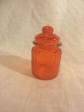 Glass Jar (Orange)