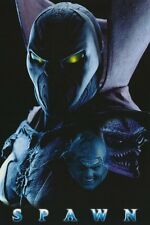 COMICS POSTER~Spawn Collage Movie 1997 Todd McFarlane Comic Strip Rare Original~