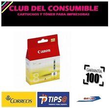 CANON CLI8 AMARILLO CARTUCHO DE TINTA ORIGINAL 0623B001