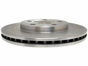 For 2000-2001 Plymouth Neon Brake Rotor Front AC Delco 65283CM Silver -- New