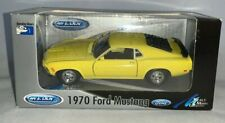 Welly 1970 Ford Mustang Yellow Metal Die Cast,1:32, MIB (B185)