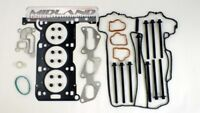 HEAD GASKET SET & BOLTS VAUXHALL AGILA CORSA C D 1.0 12V Z10XEP 2003> TWIN PORT