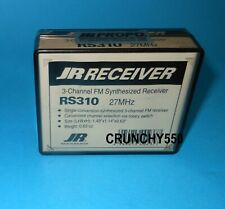 JR PROPO RS310 3 Channel Synthesized FM Receiver 27MHz NIP