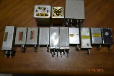 18 vintage 1940's western electric 288A condenser transformer input output ret