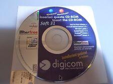 cd rom Software modem Digicom + software InterFree