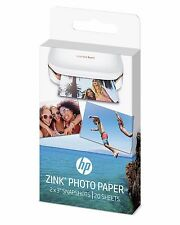 "HP ZINK Sticky-Backed Photo Paper For Sprocket Mini Printer 20 sheets 2"" x 3"""