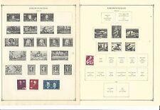 Liechtenstein Collection 1940-1961 on Scott International Pages