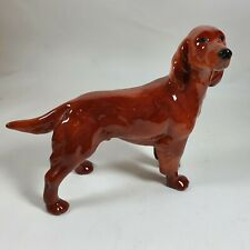 More details for irish red setter hunting retriever dog coopercraft vintage figure 8