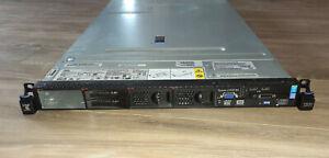 IBM SYSTEM x3550 M4 Single Xeon 8-Core E5-2640 V2 2 GHz 8GB DVD-RW Dual Power