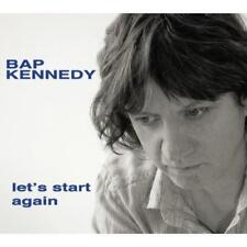 Bap Kennedy - Let's Start Again (NEW CD)