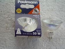10 St. Paulmann HALOGEN Reflektor 8833.599 4000 h 50 Watt 38° 12 V  GU5,3