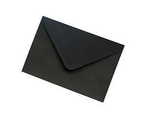 C7 Black Envelopes 100gsm - All Quantities