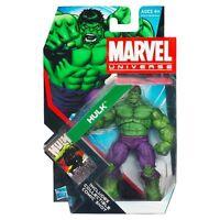 Marvel Universe ~ GREEN HULK Poseable Action Figure - HASBRO