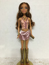 Barbie My Scene Club Disco Madison Doll Gold Boots Dressed OOAK Or Play Rare
