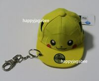 NEW ERA Golf x POKEMON Cap Pouch Mini Key Holder Pikachu Big Face Japan New