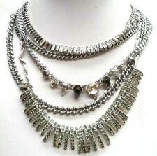 """Dot Heavy Rhinestone 20"""" Necklace! 6571V Stunning Vintage Estate Signed Stella &"""