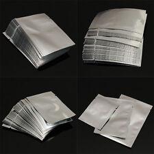100 x Silver Aluminum Foil Mylar Bag Vacuum Bag Sealer Food Storage Package
