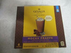 Gevalia Kaffee Mocha Frappe - 100% Arabica Coffee 1 Box - 8 Packets per box