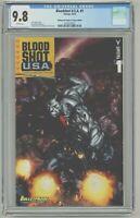 Bloodshot USA #1 CGC 9.8 Bulletproof Comics & Games Edition Variant Cover 2016