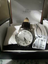 Tissot T063.610.16.038.00 Tradition Silver Dial Brown Leather Men's Watch