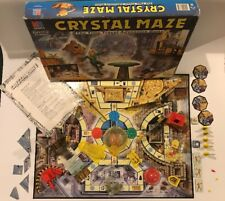 Crystal Maze Board Game 1991 MB Games Complete Vintage Time Travel 8yrs 2-4 Play