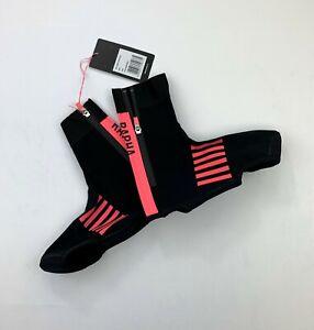 RAPHA Pro Team Over Shoes Black / Pink Size Medium New
