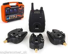 Fox Micron MXr Plus / Alarms & Receiver Set / 3 Rod / Carp Fishing