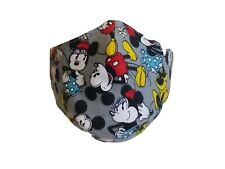 Home Made Face Mask Disney fabric Double Cloth Washable Reusable all sizes
