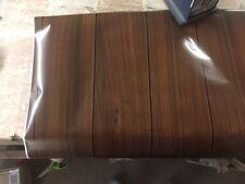 2 Meters Planked Dark Oak Wood Woodgrain Sticky Back Plastic Vinyl Film Self AD