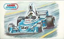 CPA Ligier Gitanes Matra Jacques Lafitte Formule 1 F1 Boivent carte postale