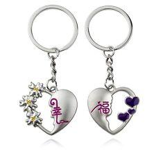 Par de llaveros CORAZONES Heart keychain A1009