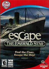 Escape The Emerald Star Hidden Objects Puzzle Video Game 2011 PC Windows Mac