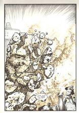 Planet of the Apes: Ape City #18 p.11 - Apes Destroy Statue - 1990 M.C. Wyman