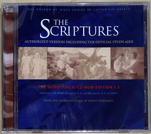 LDS Mormon • The Scriptures: CD-ROM Edition 1.1 • Authorized Version • SEALED!