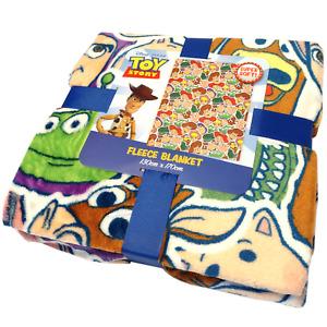 Toy Story Disney Fleece Blanket Throw Woody Buzz Lightyear Boys Bedding Child