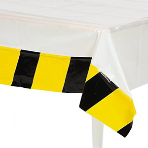 Construction Zone Birthday Party Table Cover