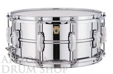 LUDWIG 6.5 x 14 Supraphonic Snare Drum LM402 w/New P88 Throw - IN STOCK