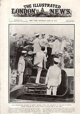 1917 London News July 14 - U.S. Troops in France; Zeebrugge and Ostend bombed