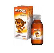 Apetizer Junior, syrop, 100 ml pobudza apetyt dzieci DLA NIEJADKÓW 3+  100 ml