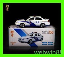 AUG 2018 #06 HYUNDAI ELANTRA CHINA JUSTICE POLICE CAR 1:64 XCARTOYS